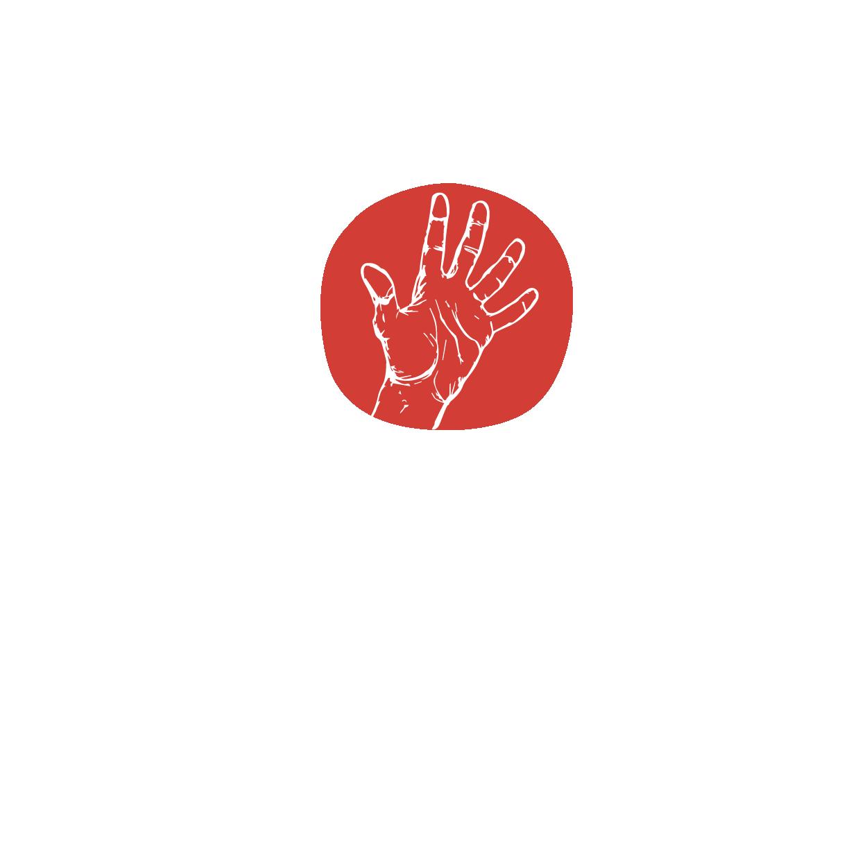 Handtherapie Logo, Ergotherapie Logo, Ergotherapie im Jägerhof, Logogestaltung